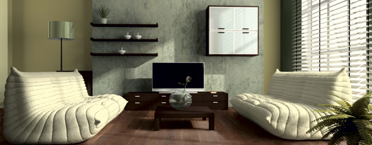 Salon moderne par Floorwell Moderne