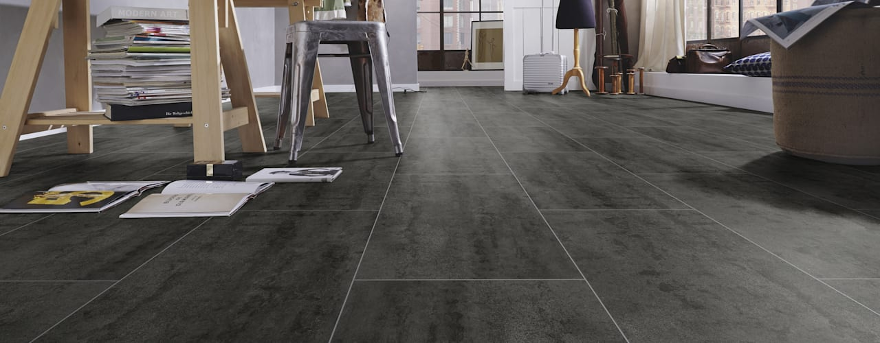 Floorwell Laminat ECO Design 2020 Kollektion Floorwell Moderne Arbeitszimmer Holzwerkstoff Schwarz
