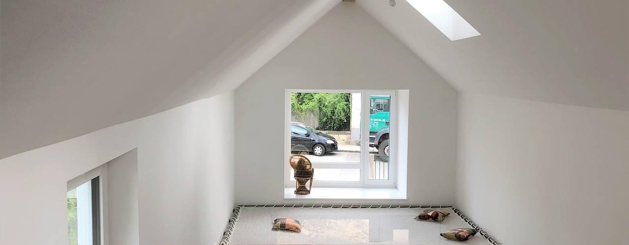 Haus ALF Moderne Wohnzimmer von archipur Architekten aus Wien Modern