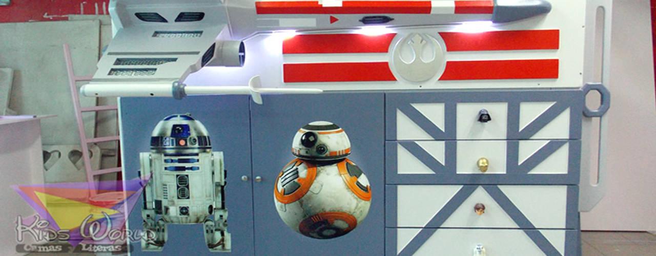 Impresionantes Recamaras de Star Wars de Kids Wolrd- Recamaras Literas y Muebles para niños Clásico