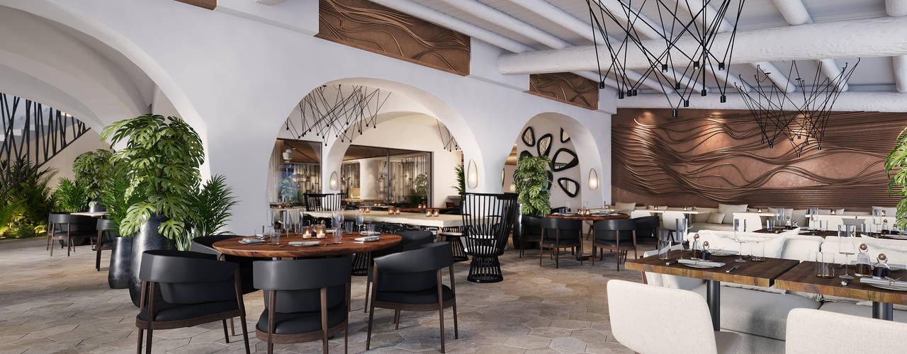 THE LOCAL HOTEL IN PORTO ROTONDO - BAR, RISTORANTE, SALA, RECEPTION E INGRESSO ROMAZZINO C.S. SERVICE SRL Hotel moderni