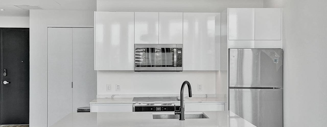 Diseño de cocinas de Shirley Palomino Moderno