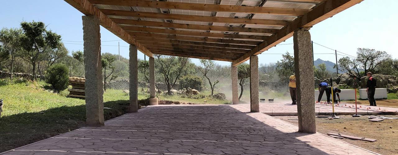 Pavimentazione in calcestruzzo stampato ROMAZZINO C.S. SERVICE SRL Pavimento Cemento armato