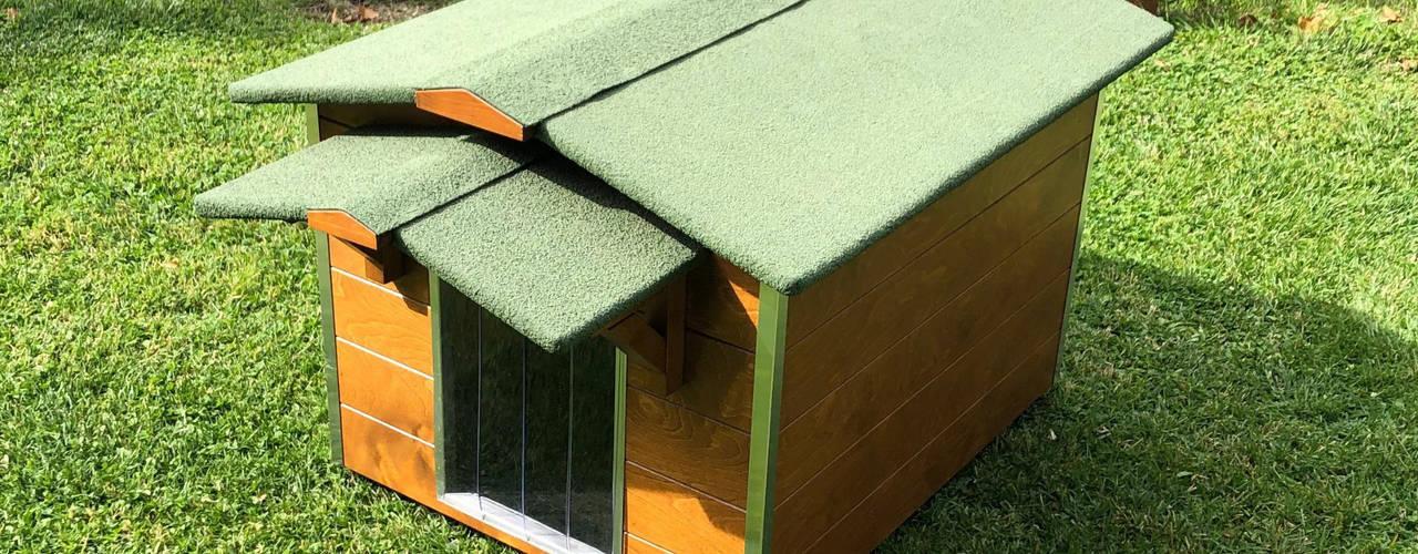 Cucce di design da esterno Pet House Design® Casetta da giardino Legno