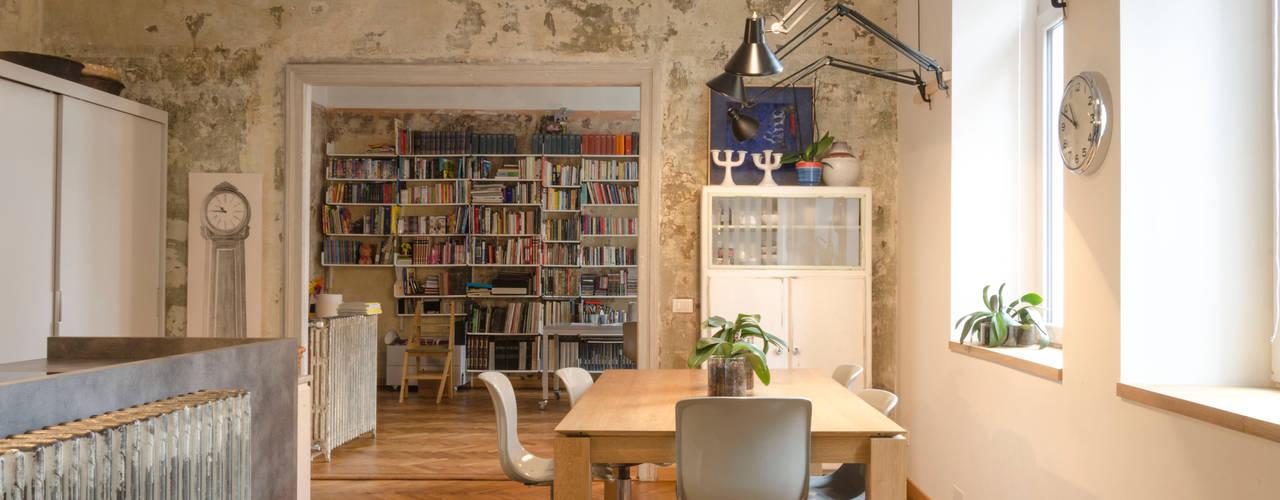 Maison Giustinelli, la casa dei miei sogni Sala da pranzo eclettica di Angela Baghino Eclettico