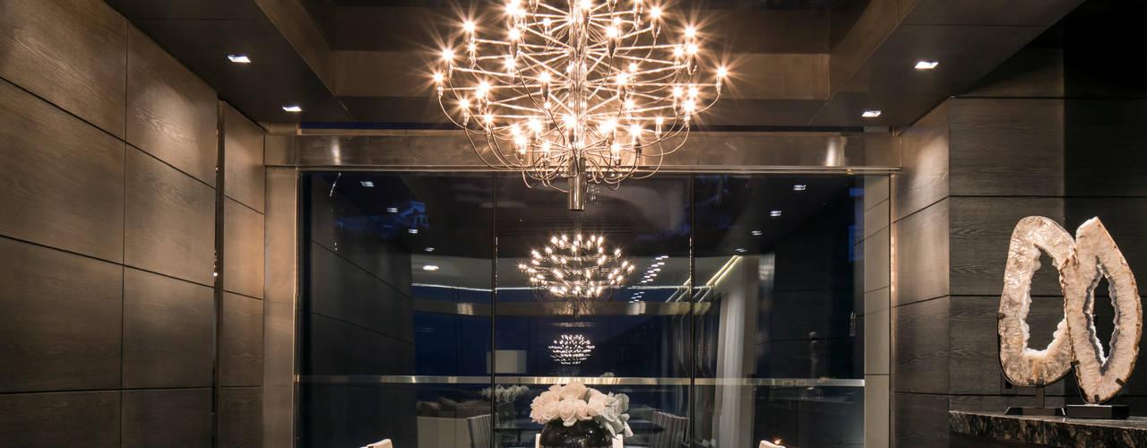 GLR Arquitectos Modern Dining Room