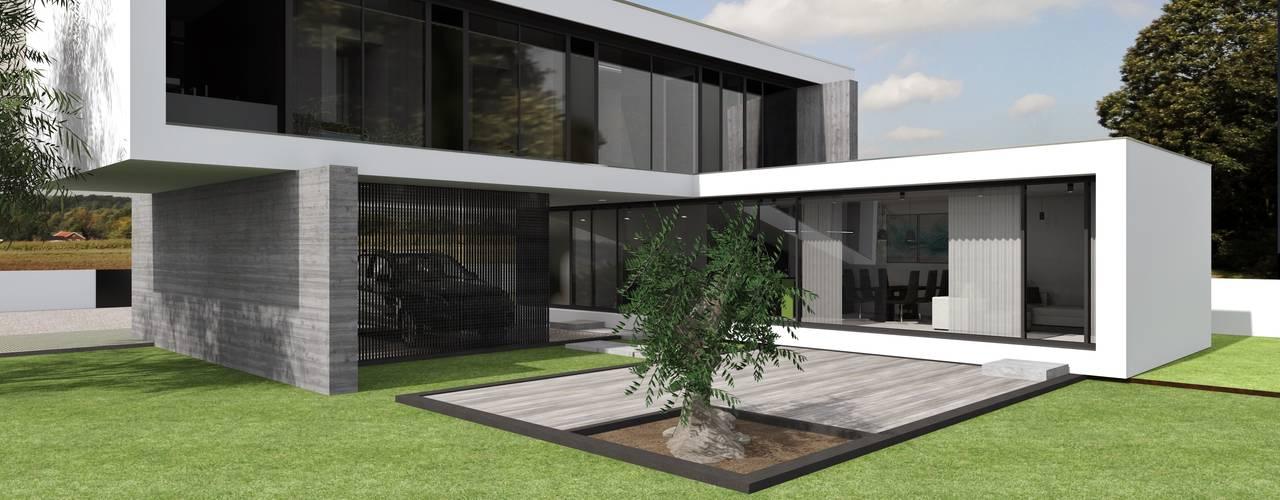 Moradia Rubi por Magnific Home Lda Moderno