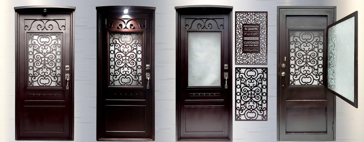 Camaleon Iron Doors de Camaleon Iron Doors Moderno