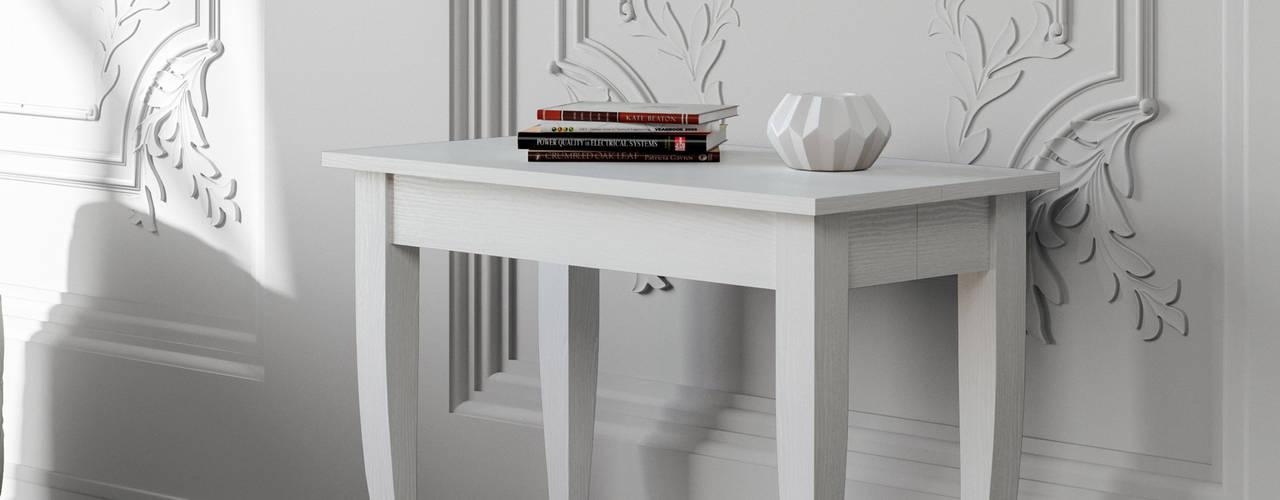 Consolle allungabili in stile classico itamoby Ingresso, Corridoio & Scale in stile classico Legno Effetto legno