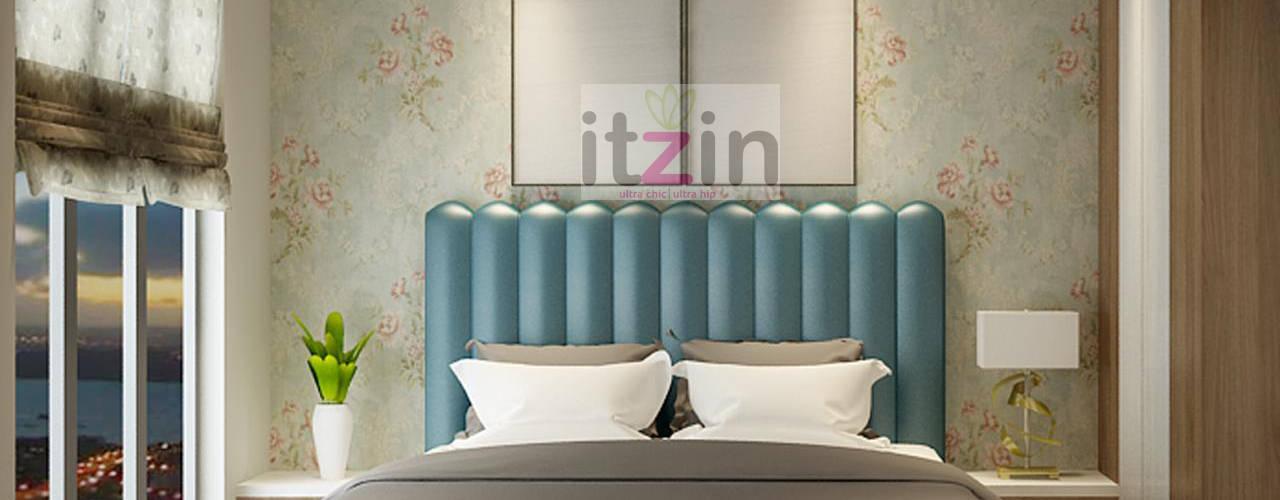 Breathtaking Interior Inspiration for a Modern Condo Itzin World Designs Modern style bedroom