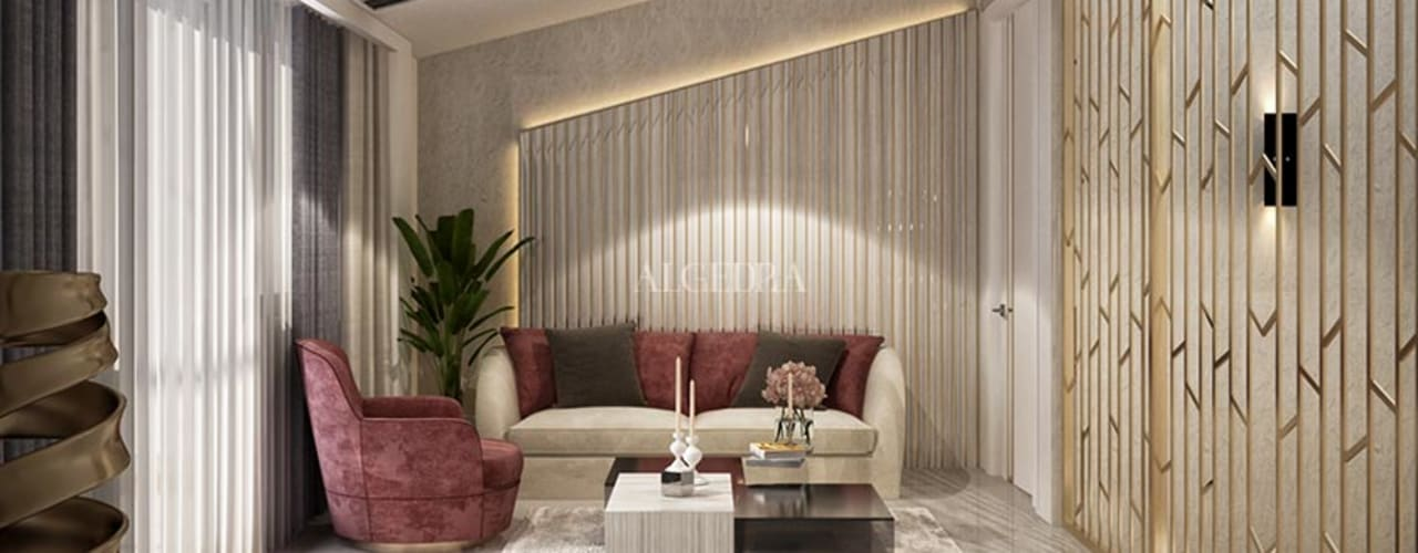 Algedra Interior Design غرفة المعيشة