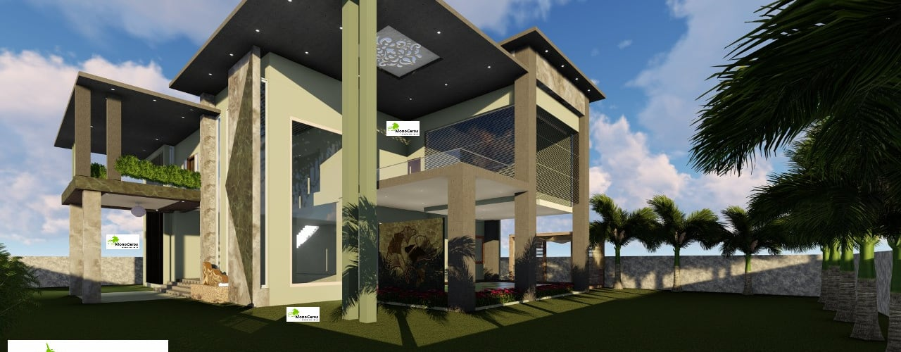 Bungalow architecture design and planning Monoceros Interarch Solutions Bungalows