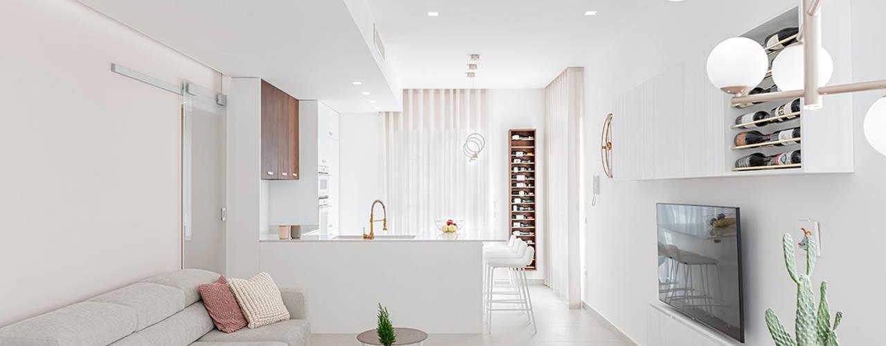 Casa FaLù Soggiorno minimalista di manuarino architettura design comunicazione Minimalista