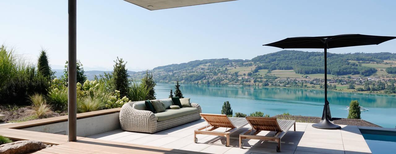 Hegi Koch Kolb + Partner Architekten AG Balcon, Veranda & Terrasse modernes