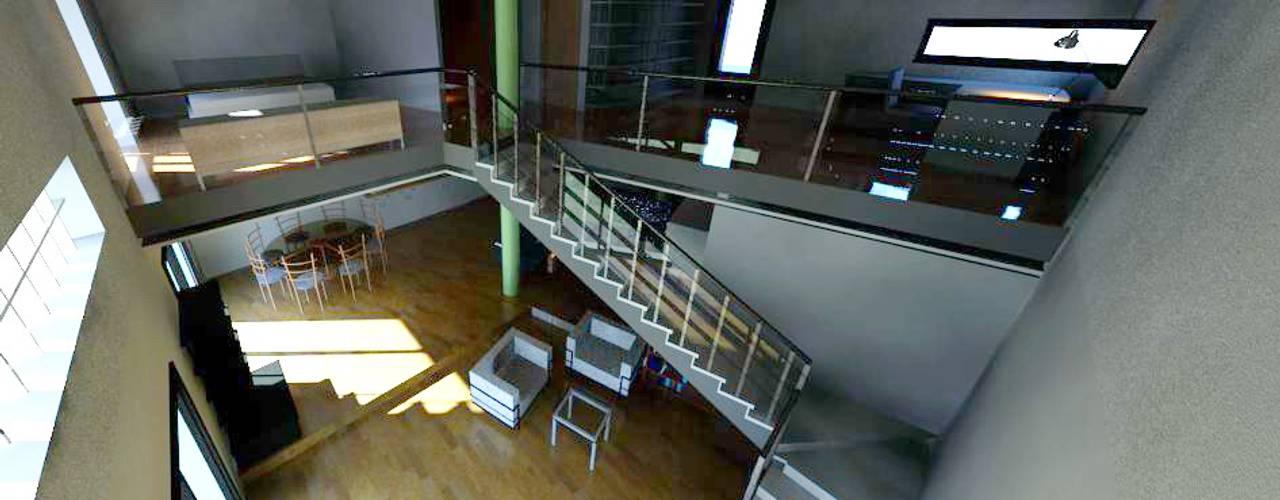 Casa Cózar. Vivienda Unifamiliar aislada Acedo Arquitectura Estudios y despachos de estilo minimalista