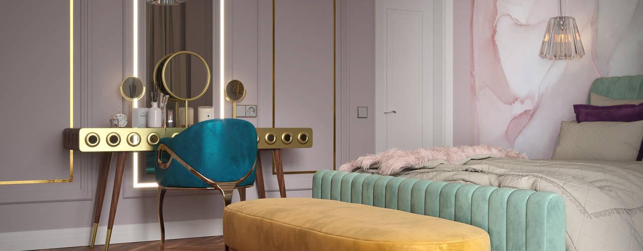 Projeto Glamorous Bedroom de Valeria Mikheeva Essential Home Quartos modernos