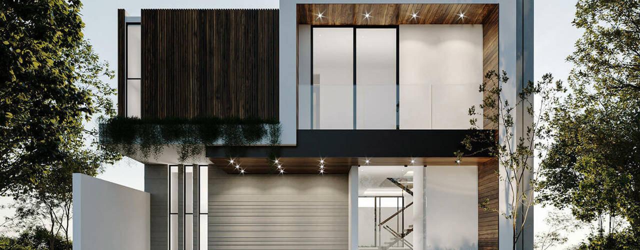 Casas en venta en Bugambilias, Zapopan Jalisco Rebora Arquitectos Casas multifamiliares Concreto Gris