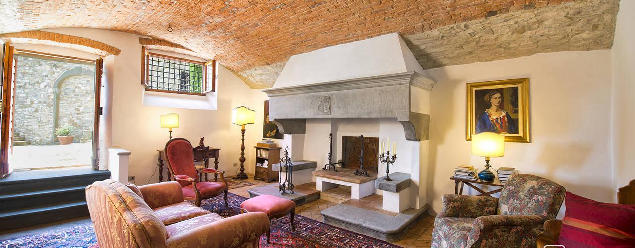 Villa di prestigio a Castellina in Chianti Andrea Fabrizi Soggiorno rurale
