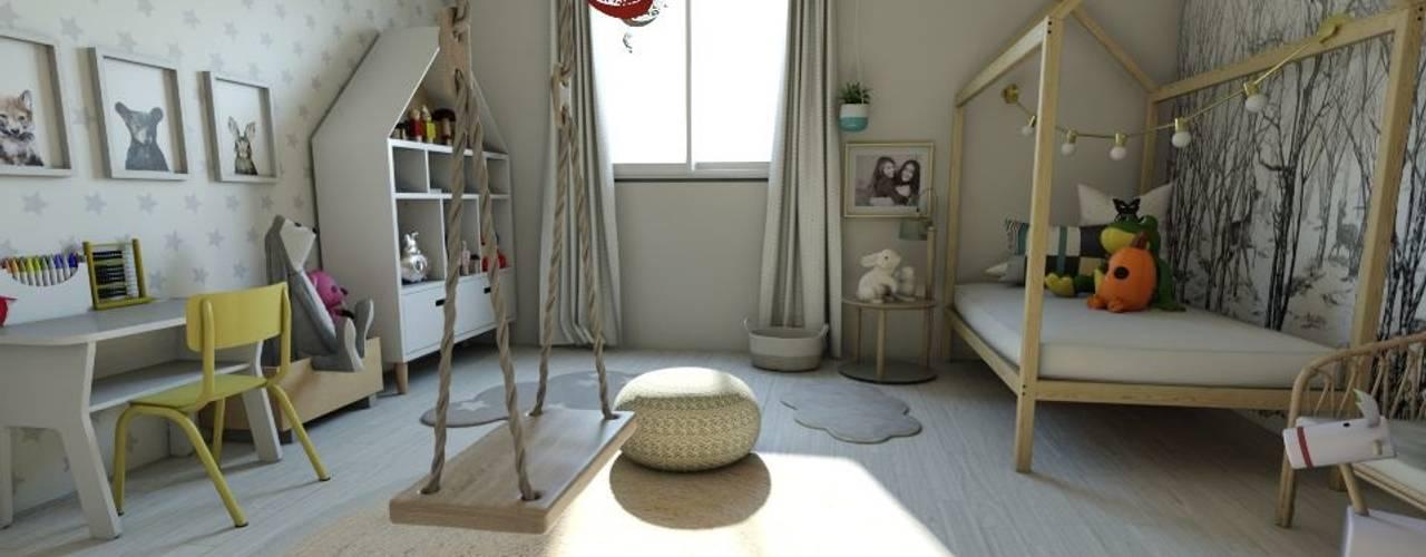 Habitación Montessori Gabi's Home Habitaciones infantilesAlmacenamiento Beige