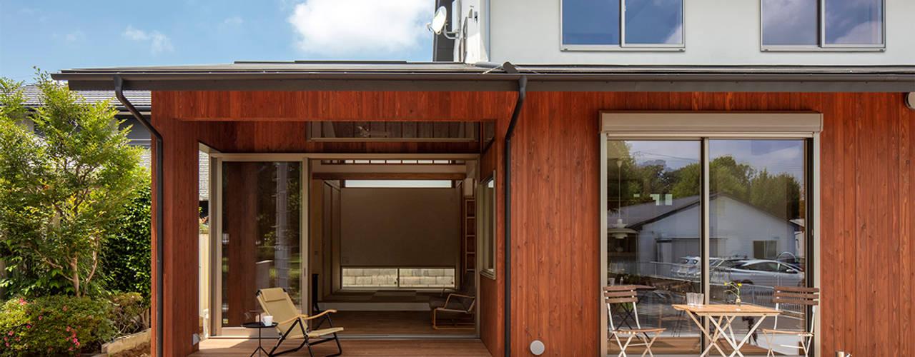 アウトドアリビングのある家 株式会社 井川建築設計事務所 一戸建て住宅