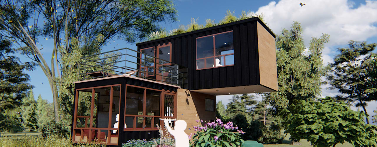 Mini casa NEIA I IMZA Arquitectura Casas pequeñas