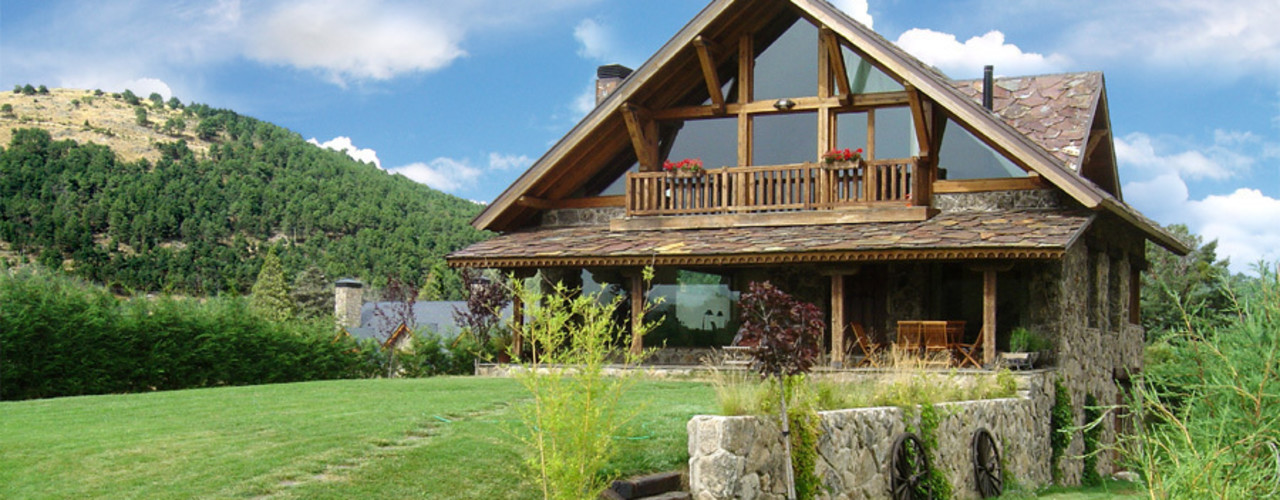 homify Rustic style houses