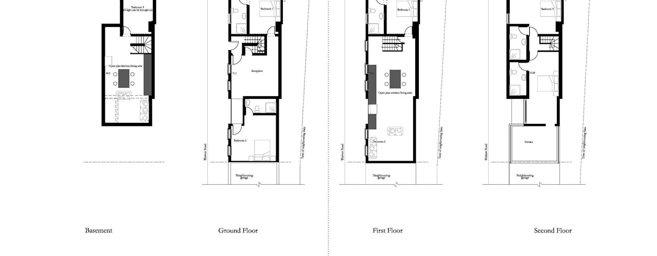 House Conversion, Kensington RS Architects Industrial style houses