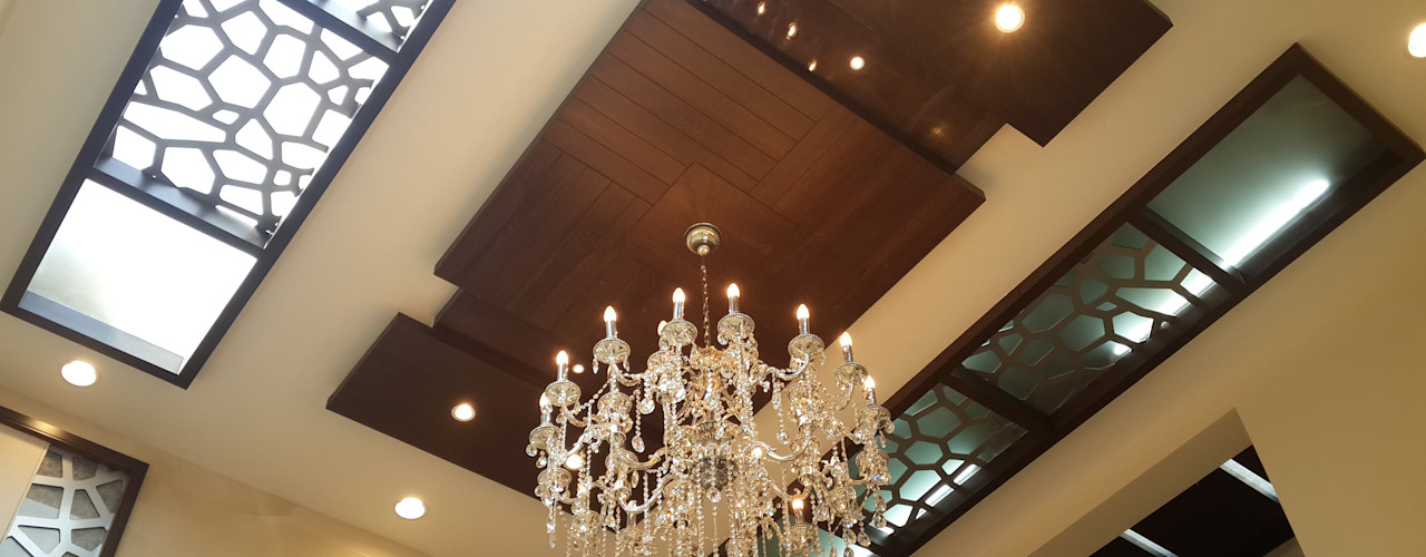 Residence Of Mr.Ranganath Hasta architects Modern living room