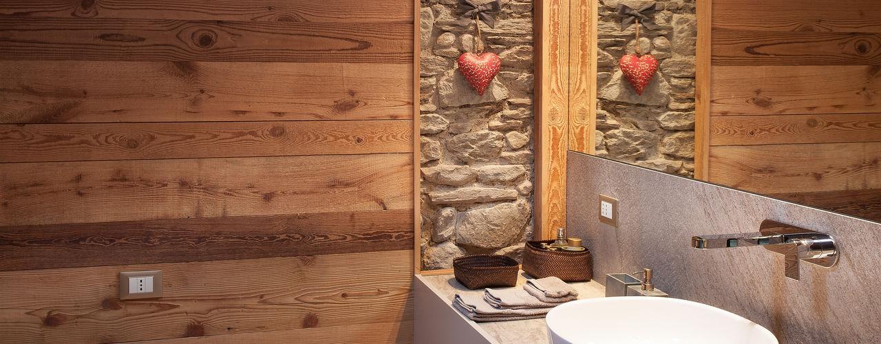 archstudiodesign Phòng tắm phong cách Bắc Âu
