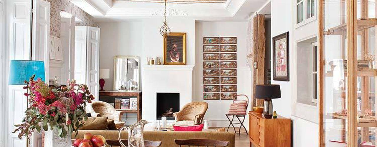 Reforma integral de vivienda en Madrid Simetrika - Reformas Integrales en Madrid Comedores de estilo ecléctico