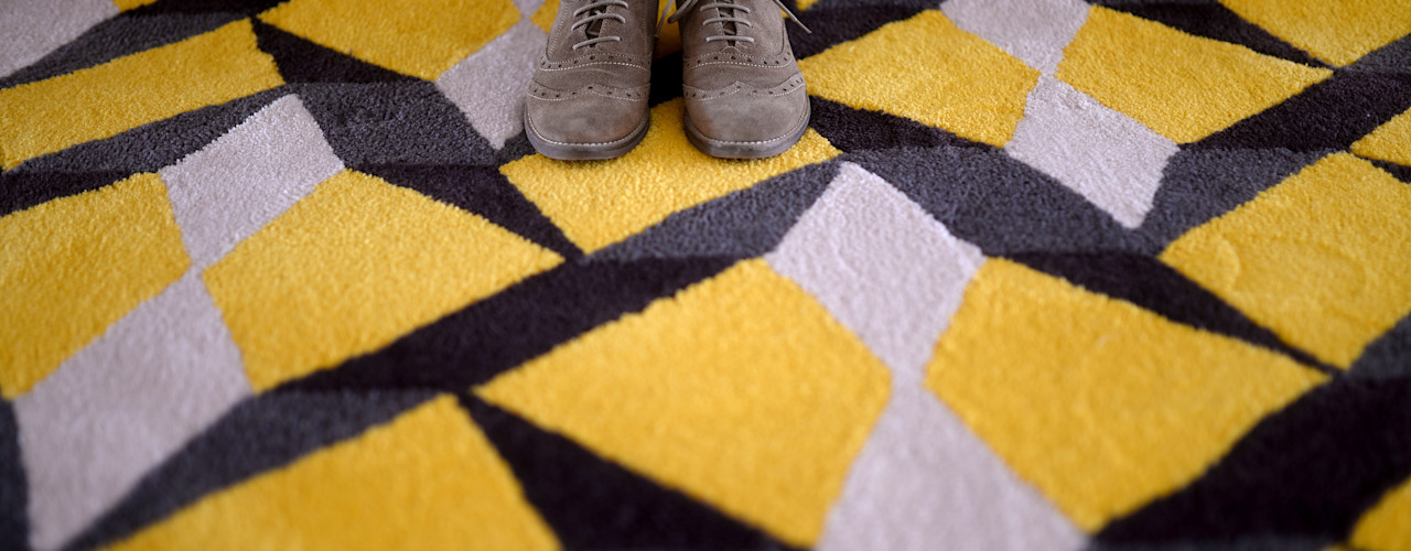 homify Walls & flooringCarpets & rugs Wool Multicolored