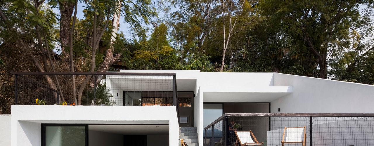 Casa con vista Dellekamp Arquitectos Casas minimalistas
