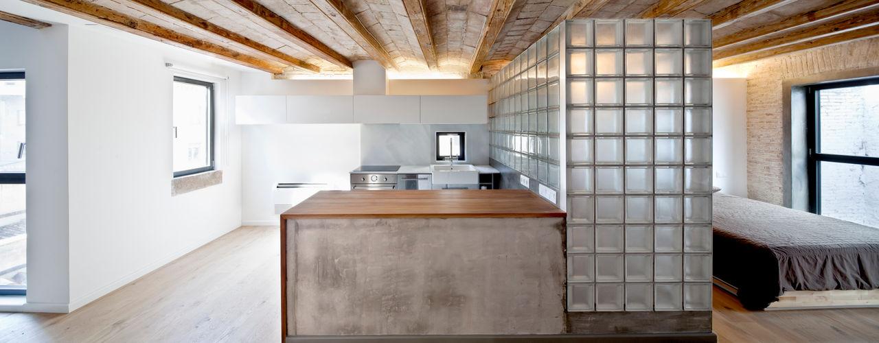 Alex Gasca, architects. Mediterrane keukens