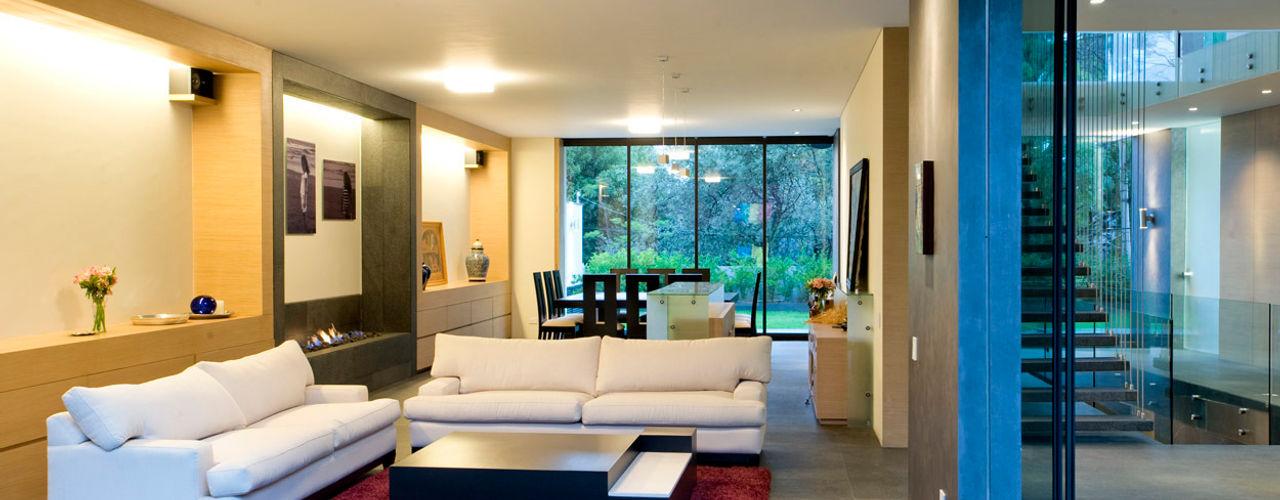 House V Serrano Monjaraz Arquitectos Modern living room