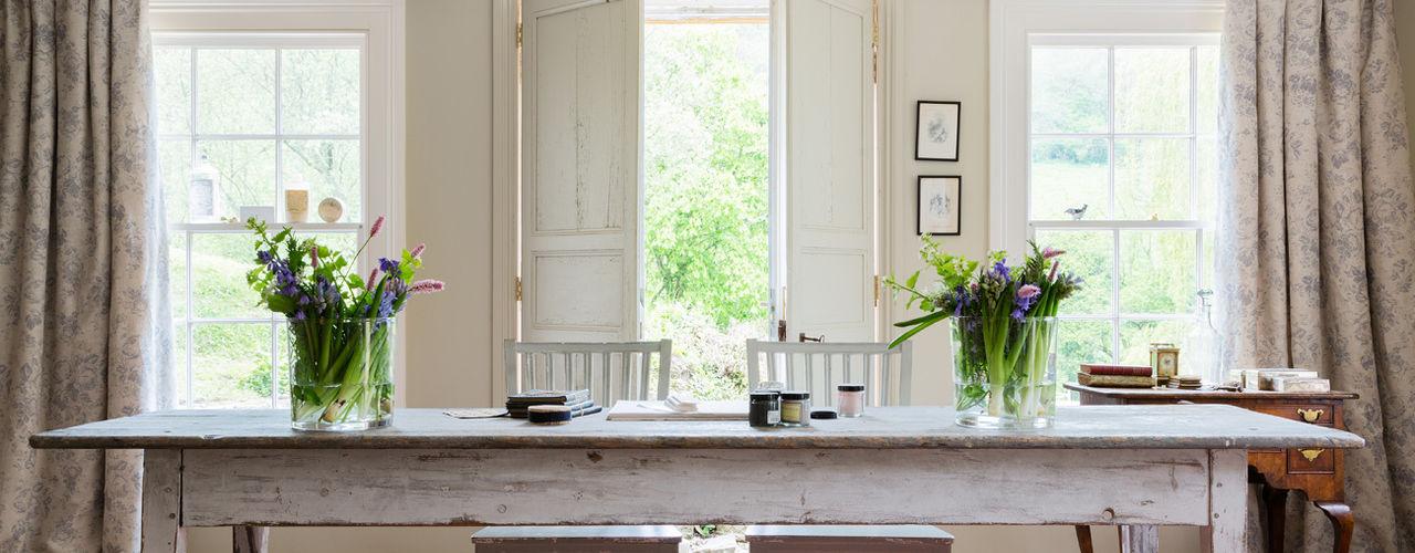 PARIS ROSE Cabbages & Roses Fenêtres & PortesRideaux et tentures