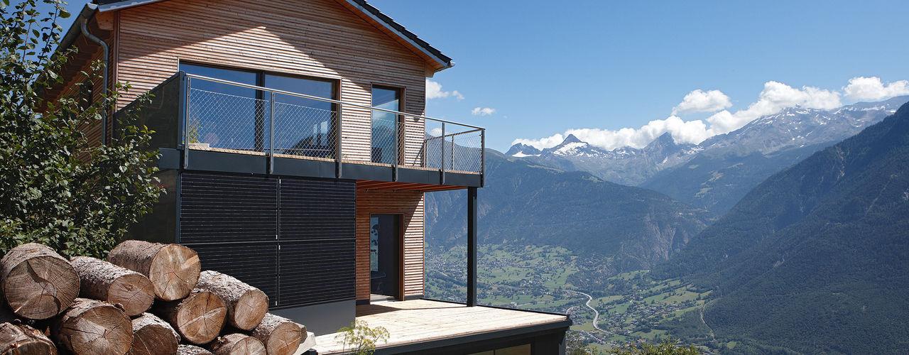 Passivhaus in der Schweiz: Energieversorgung in Eigenregie Bau-Fritz GmbH & Co. KG Moderne Häuser