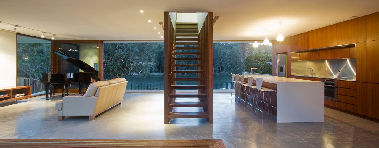 Project #2 CHROFI Modern Corridor, Hallway and Staircase