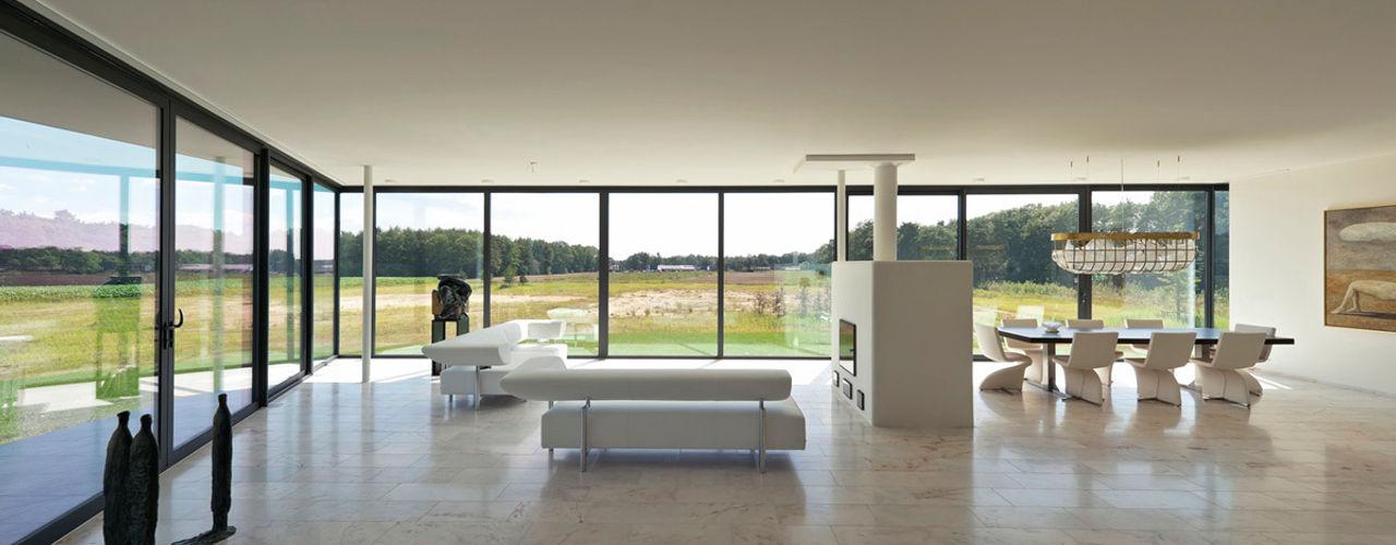 123DV Moderne Villa's Salas de estar modernas