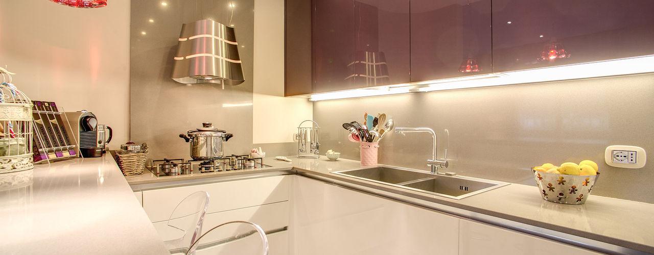 MOB ARCHITECTS 現代廚房設計點子、靈感&圖片