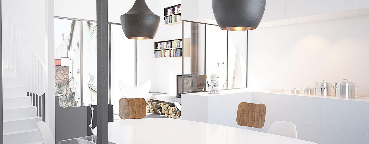 BAPTISTE LEGUÉ 現代廚房設計點子、靈感&圖片