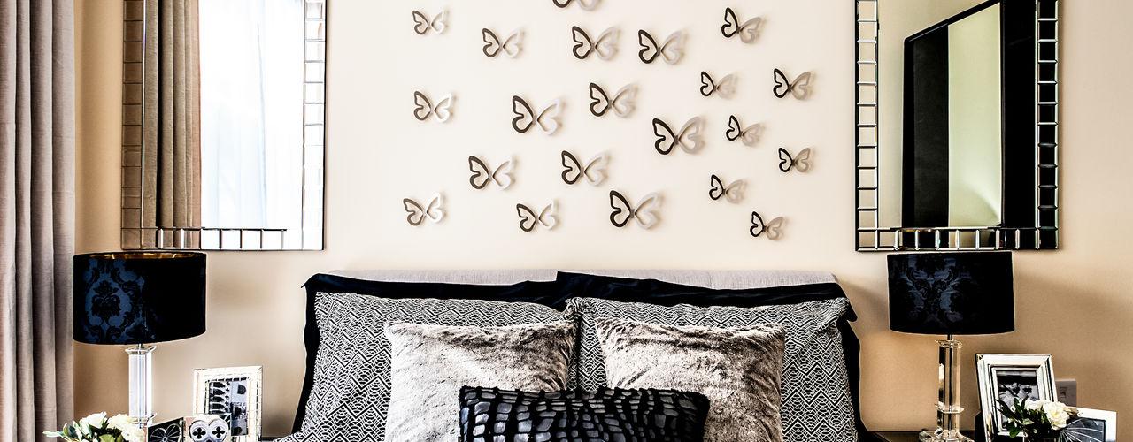 Show flat in London, The Cubitt, Battersea Lujansphotography Modern style bedroom