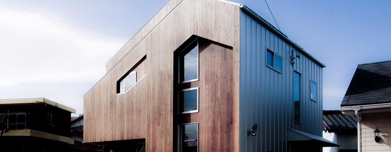 AtelierorB บ้านและที่อยู่อาศัย ไม้ Wood effect