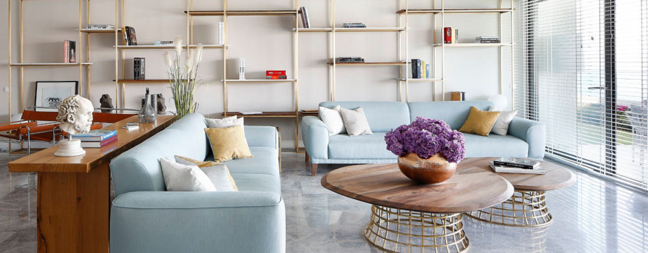 OLABELLA // RESIDENTIAL PROJECT Escapefromsofa Modern Oturma Odası
