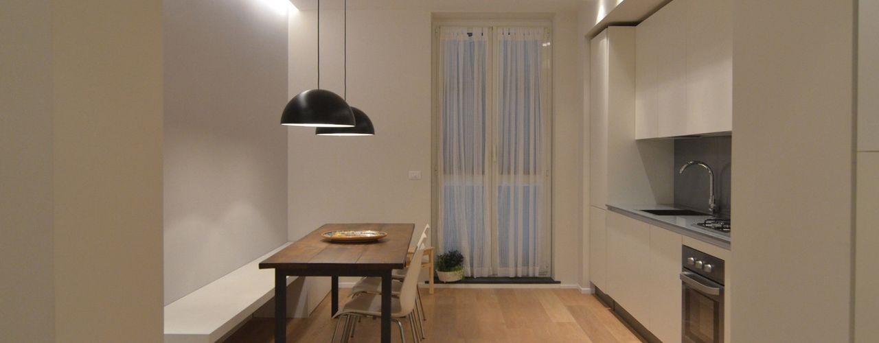 ministudio architetti Minimalist dining room