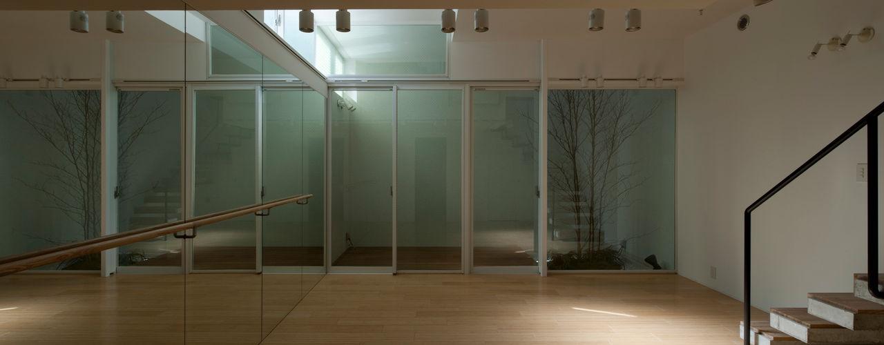 metis 筒井紀博空間工房/KIHAKU tsutsui TOPOS studio オリジナルデザインの ホームジム