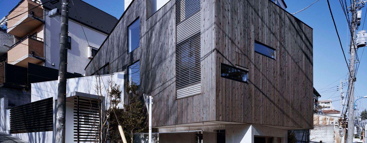 balena 筒井紀博空間工房/KIHAKU tsutsui TOPOS studio オリジナルな 家