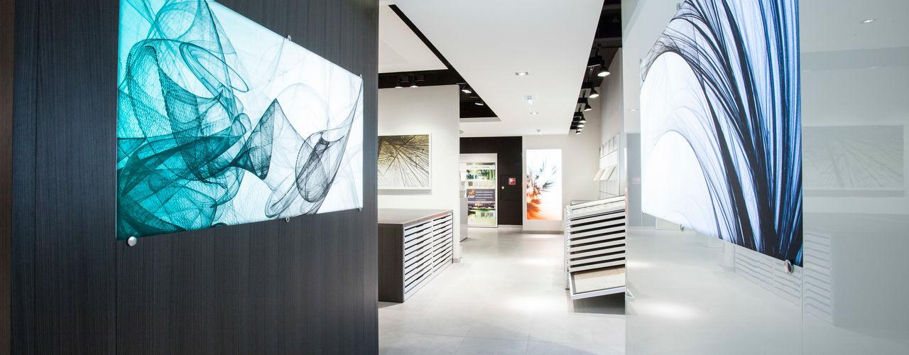 Foschi & Nolletti Architetti Minimalistische Geschäftsräume & Stores