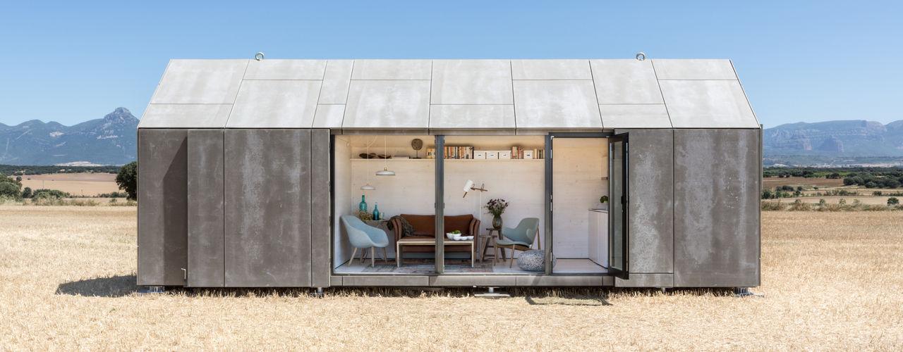 CASA TRANSPORTABLE ÁPH80 ÁBATON Arquitectura Casas de estilo rural