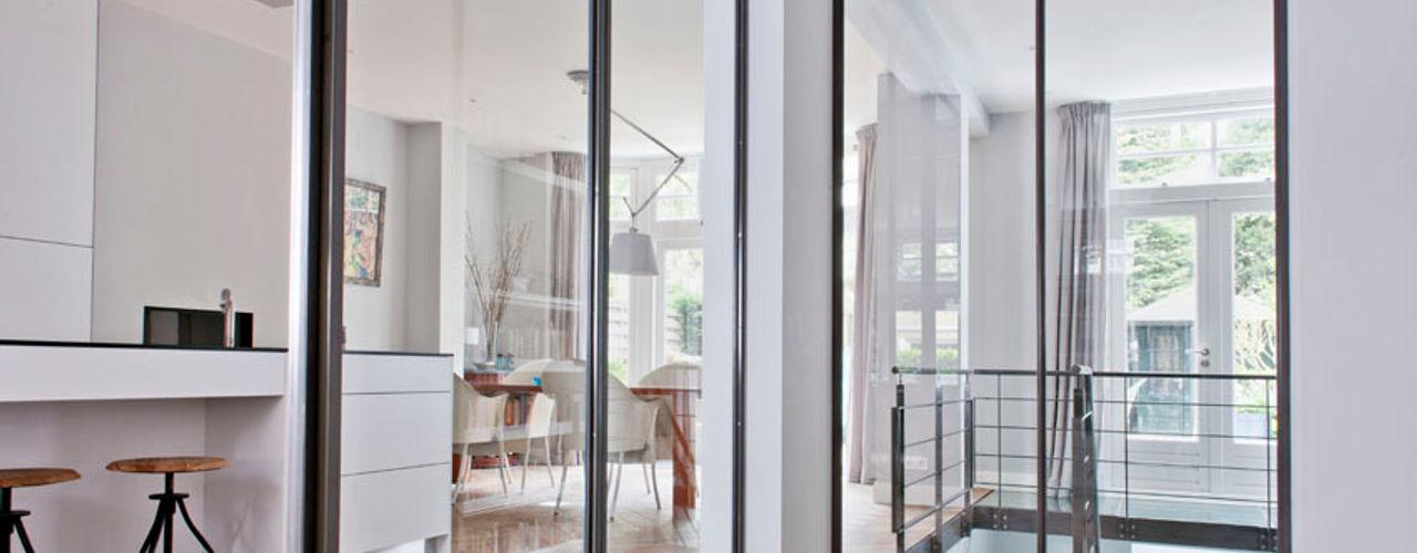 Kodde Architecten bna Moderner Flur, Diele & Treppenhaus