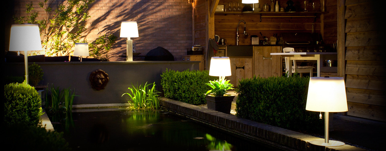 Lámparas solares Gacoli Comercial Martens JardínIluminación